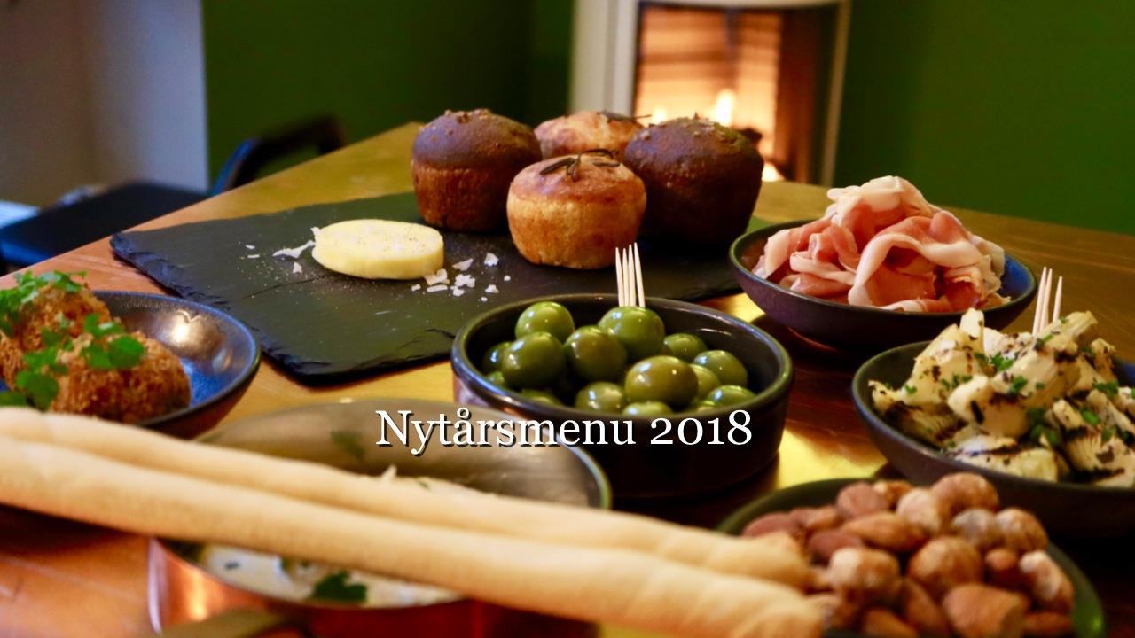 Nytårsmenu 2018 2takt Café Brasserie